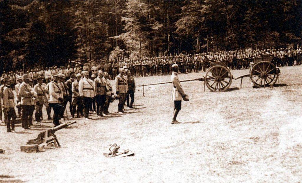 La fine della prima guerra mondiale
